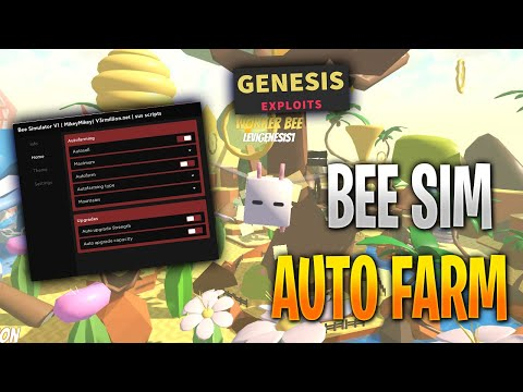 Roblox Bee Sim Hack/Script A simple autofarm, basically inf honey! - Roblox Bee Sim Hack/Script. In this video i have showcased a simple autofarm script for bee sim. It does the job. You can leave it overnight for good results! - Free Cheats for Games
